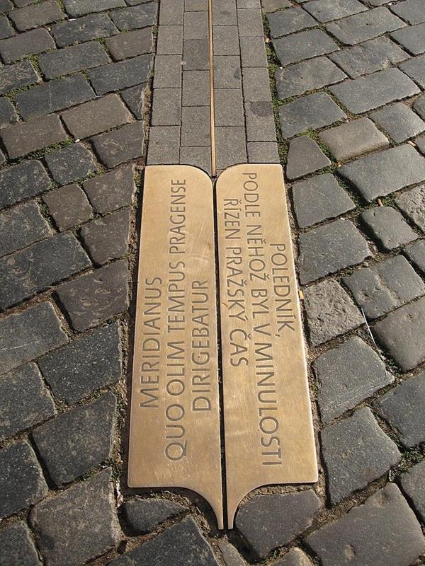 布拉格子午線(Prague meridian)