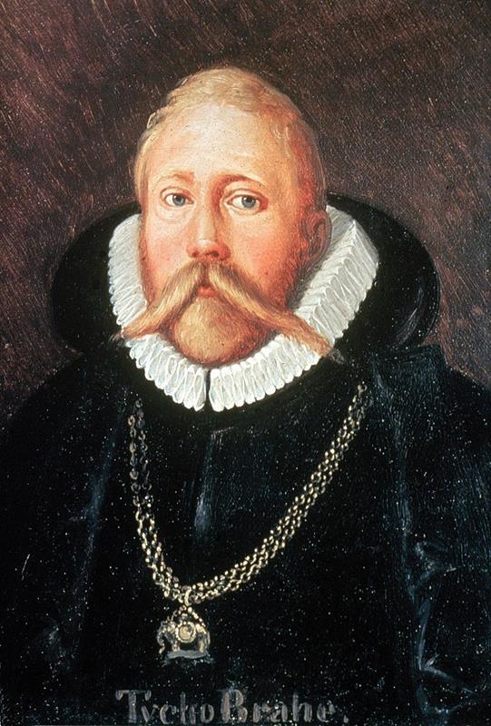 丹麥天文學家第谷·布拉赫(Tycho Brahe)