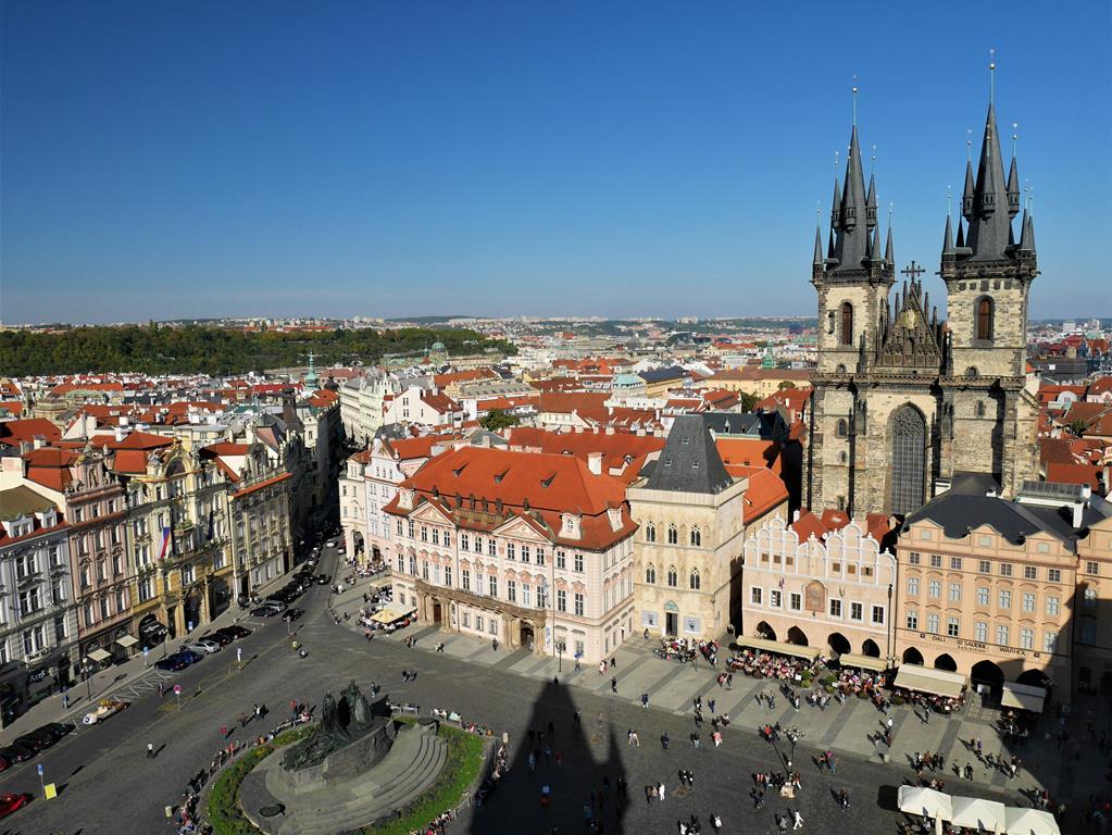 捷克布拉格廣場
