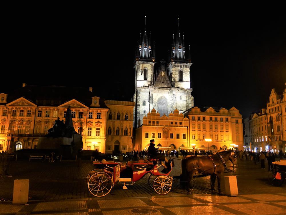 布拉格廣場夜景