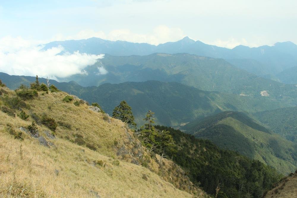 登雪山沿途風景