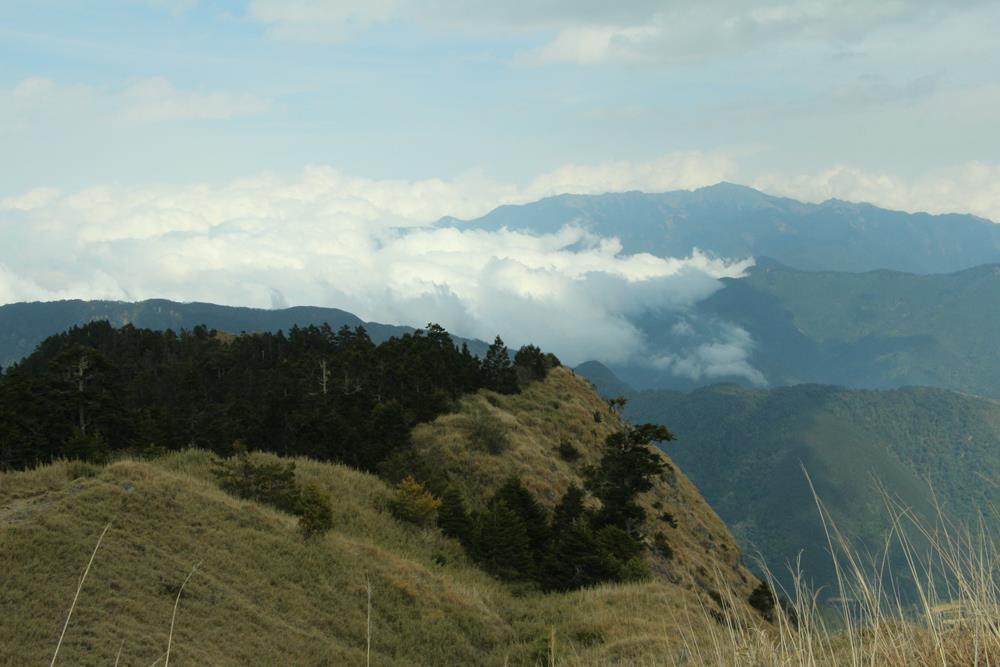 雪山東峰視野