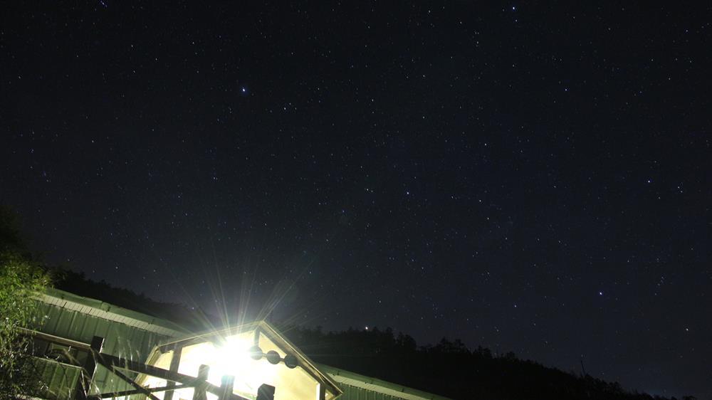 三六山莊夜晚星空