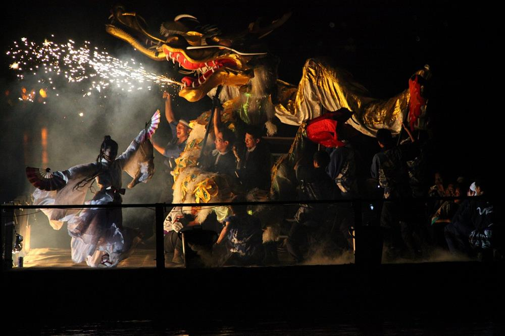 智恩寺文殊堂出船祭-九世戶起源