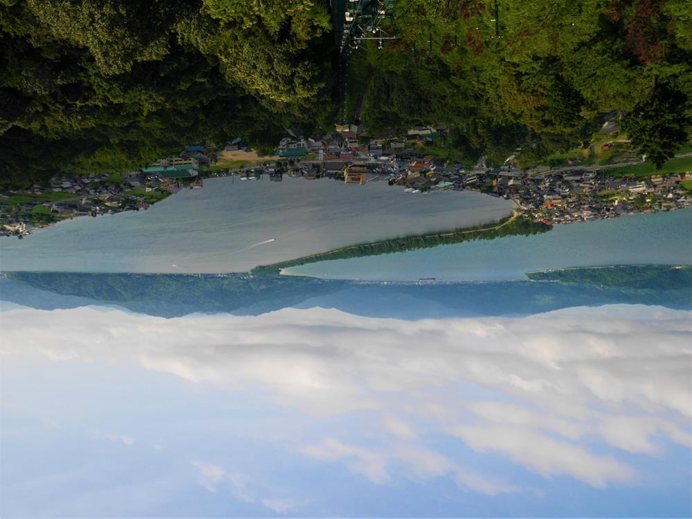 傘松公園從胯下看天橋立