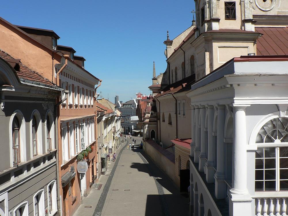 立陶宛旅遊黎明之門街