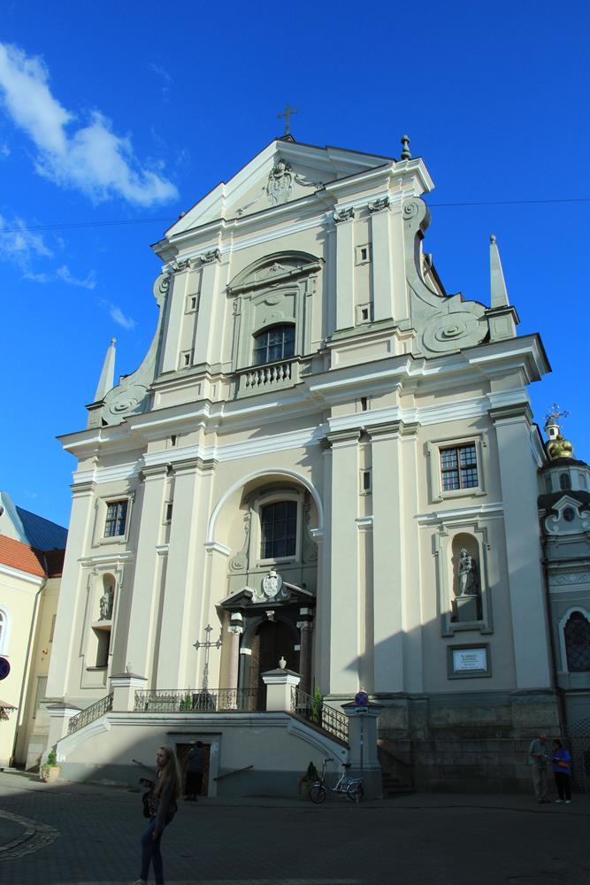 立陶宛旅遊聖泰麗莎教堂