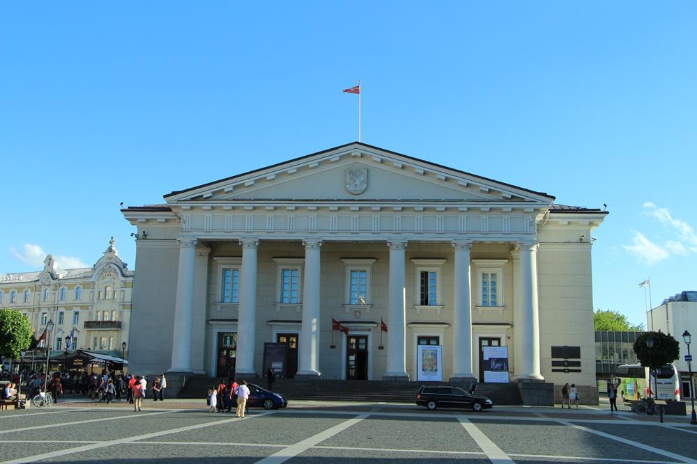 立陶宛旅遊維爾紐斯市政廳