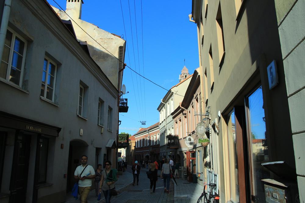 立陶宛自由行皮利斯街街景