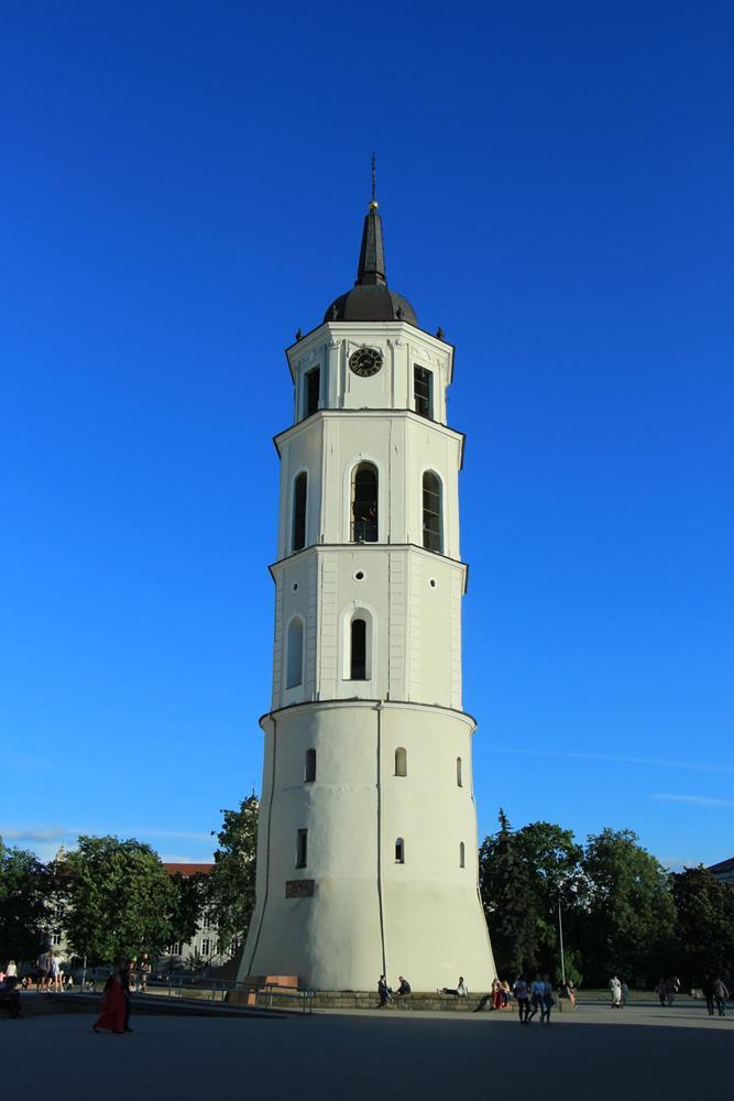 立陶宛自由行主教座堂鐘塔