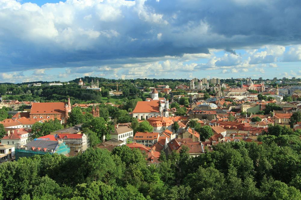 俯瞰舊城區