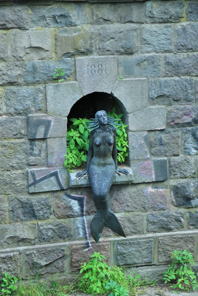 對岸共和國美人魚銅像