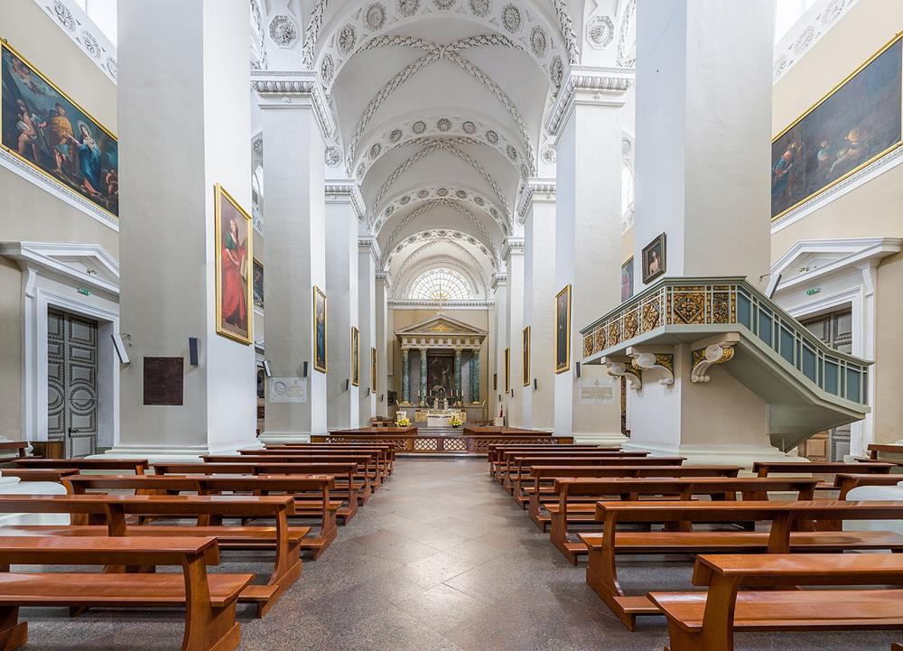 維爾紐斯主教座堂內部