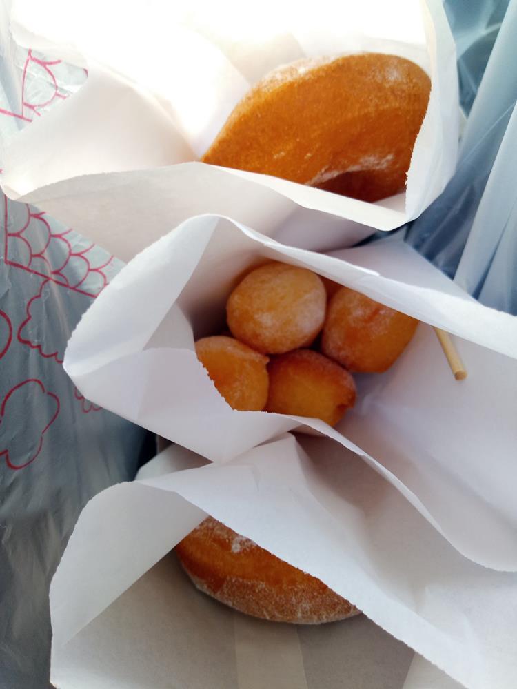霧台小米甜甜圈與QQ球