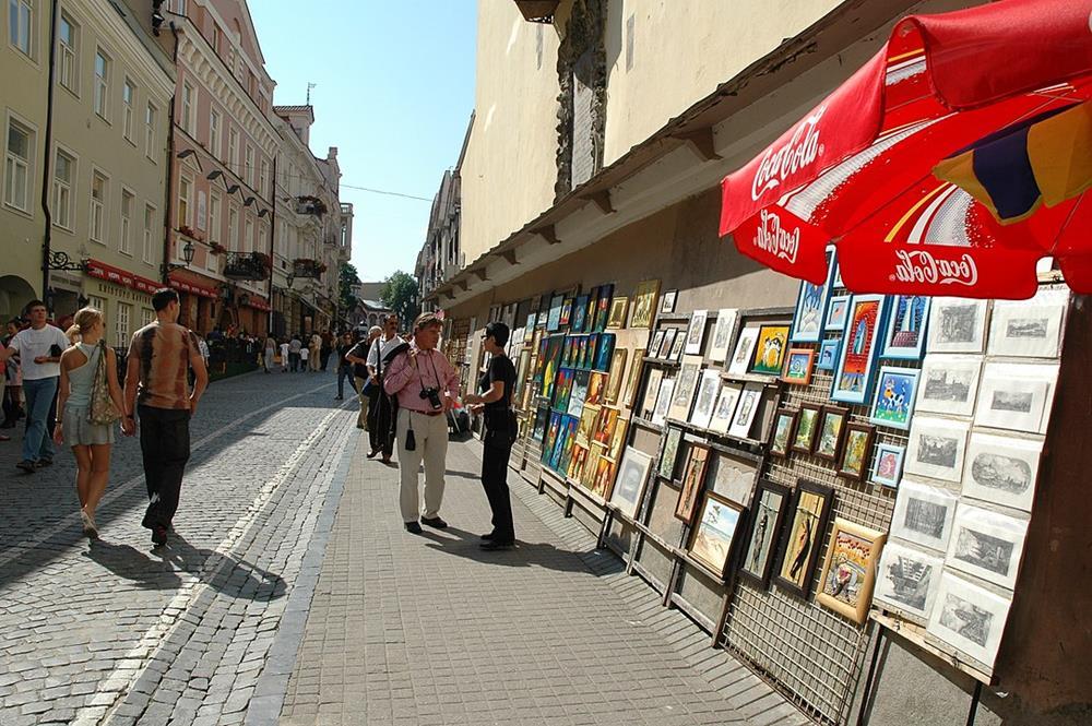 立陶宛旅遊皮利斯街景