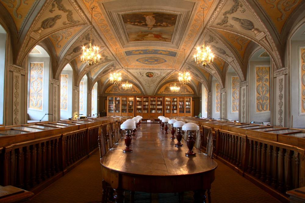 維爾紐斯大學圖書館Franciszek Smuglewicz大廳