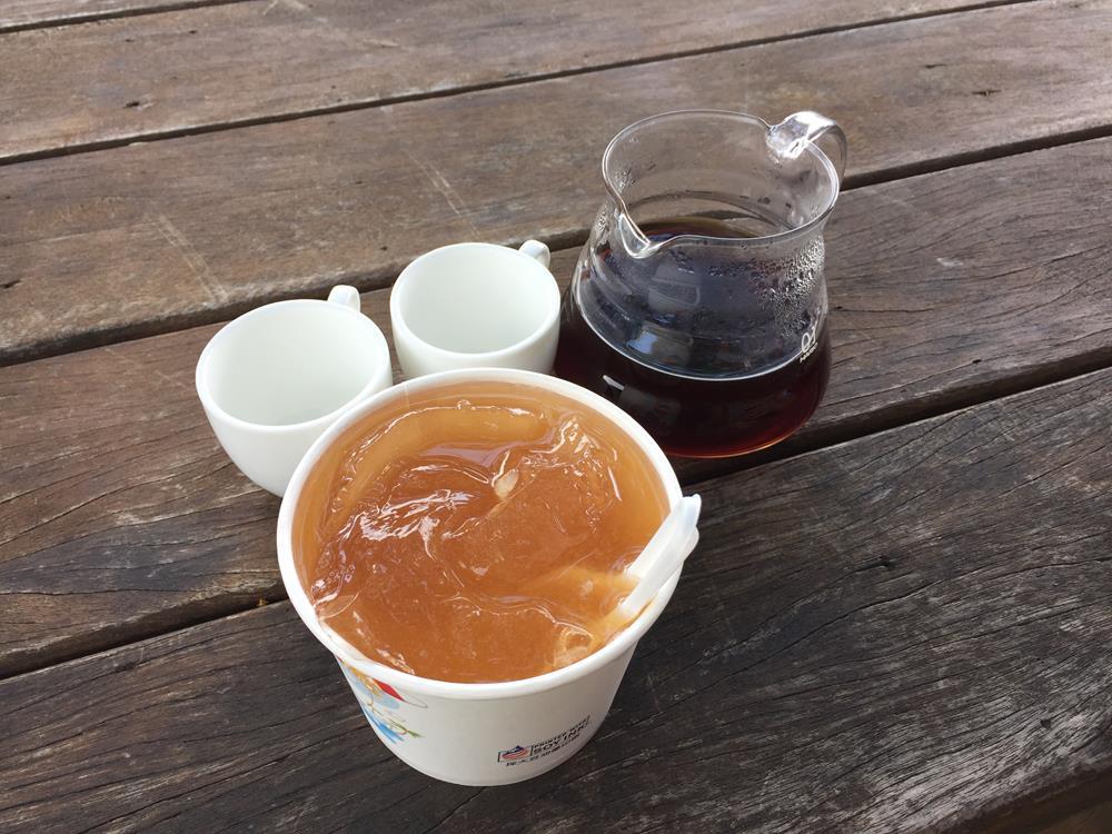 霧台阿桃咖啡與愛玉