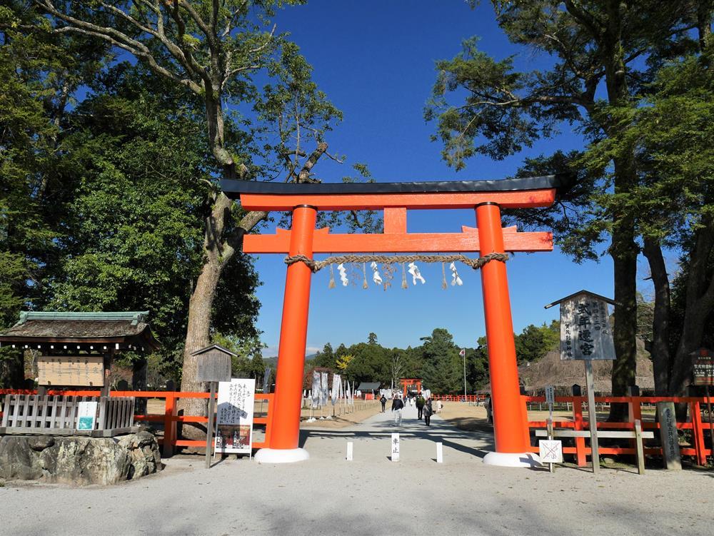 上賀茂神社一之鳥居