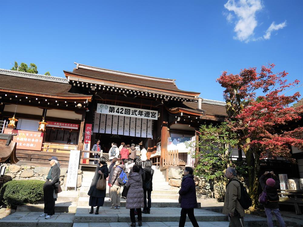 上賀茂神社中門