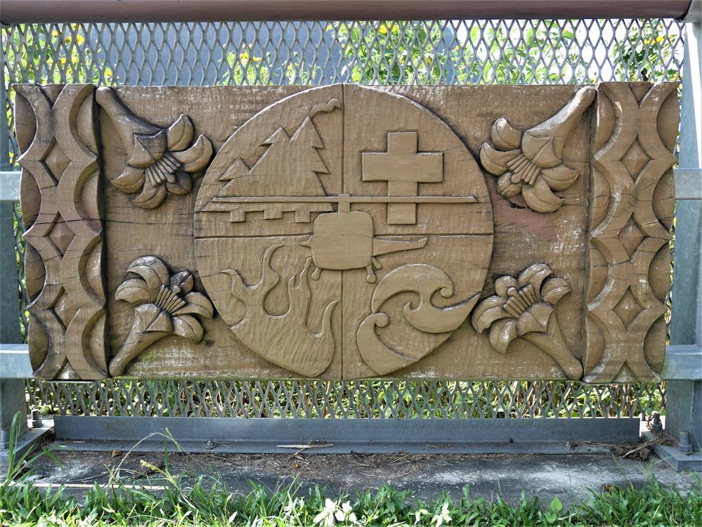 谷川大橋護欄雕刻藝術