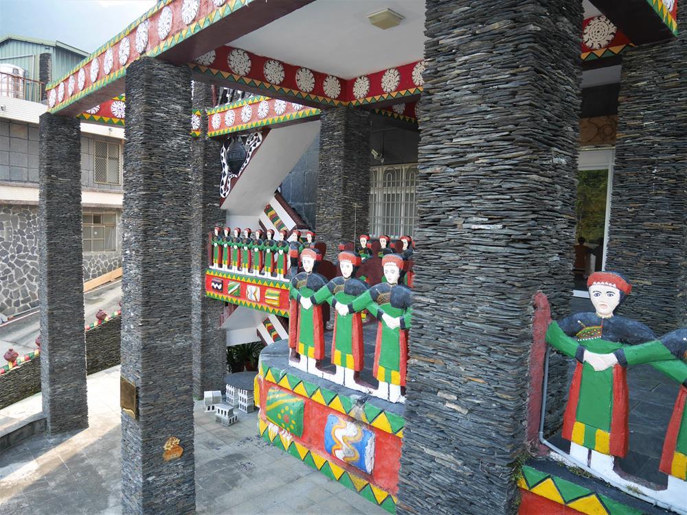 魯凱族文物館外觀藝術