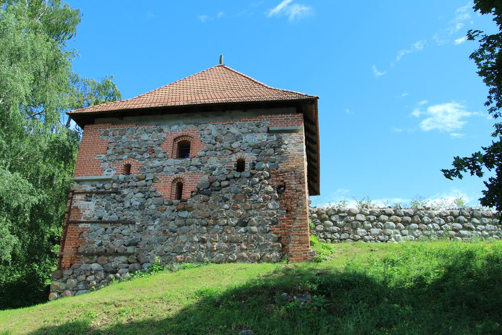 半島城堡部分城牆
