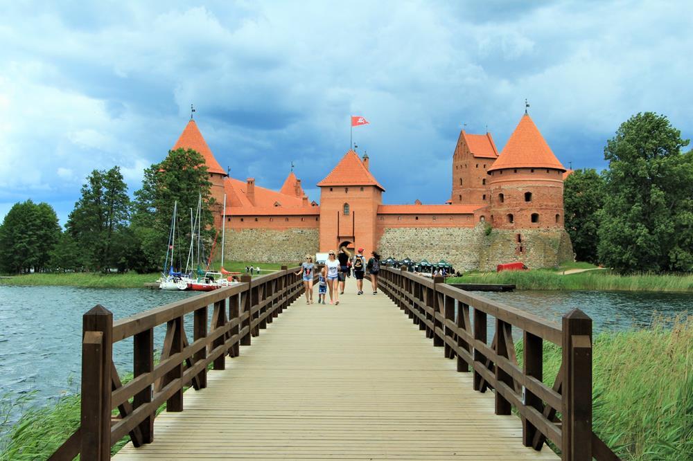 特拉凱城堡大門