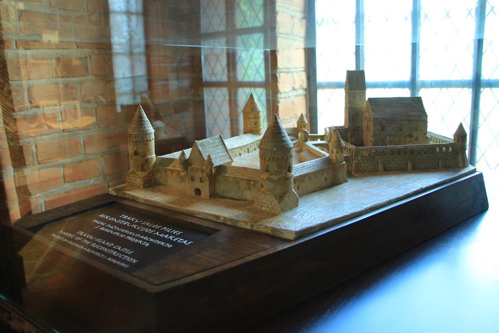 特拉凱島嶼城堡模型