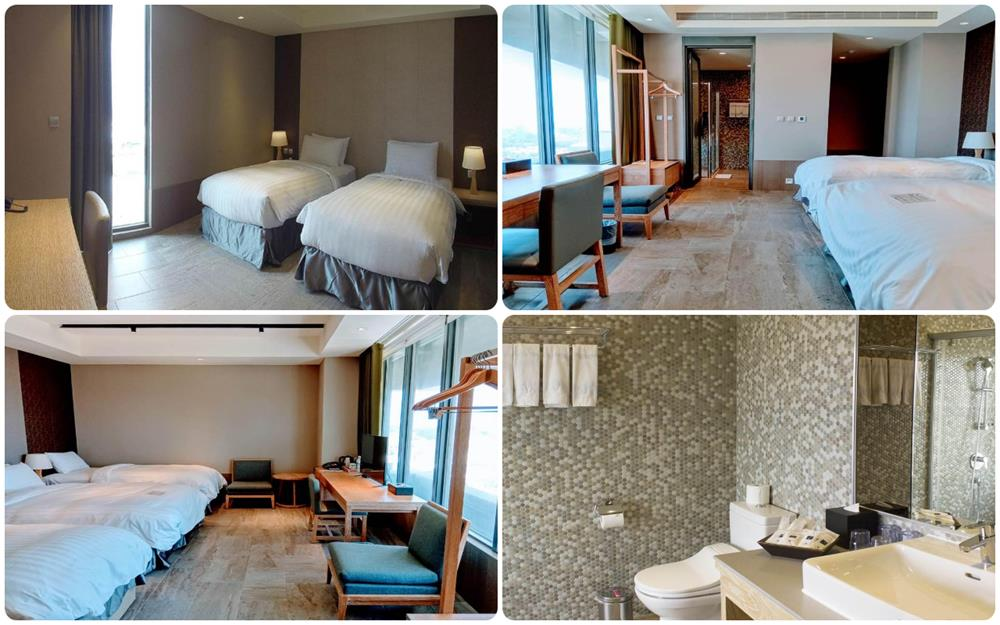 台東地景澤行館標準雙床及家庭房