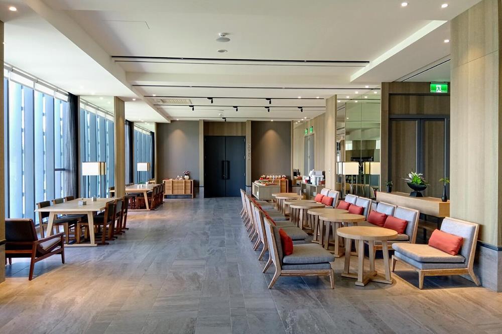 地景澤行館公共咖啡廳空間