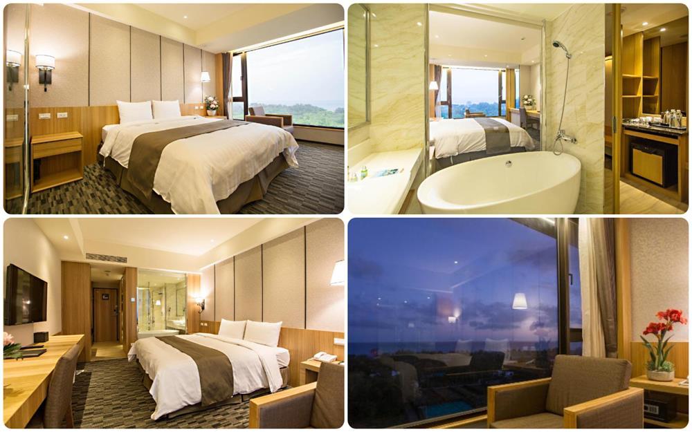 台東凱旋星光酒店豪華海景雙人房