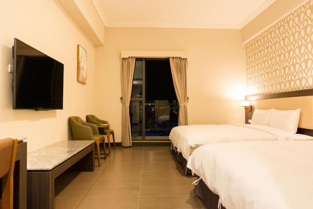 台東市飯店推薦V-Hotel經典家庭4人房