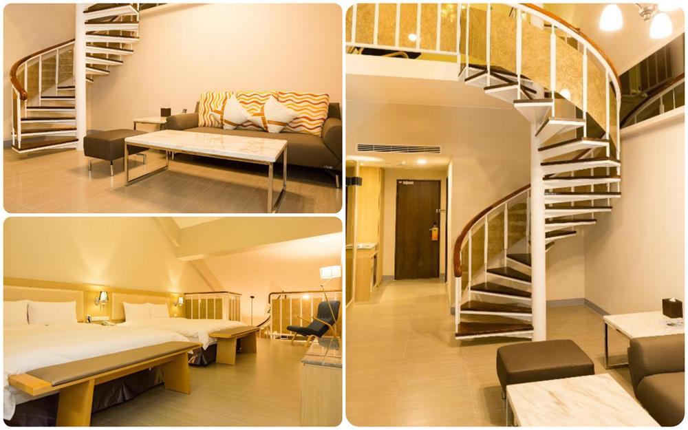 台東市飯店V-Hotel4人樓中樓房