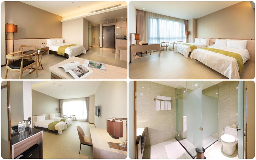 台東市區住宿禾風新棧度假飯店2-4人房