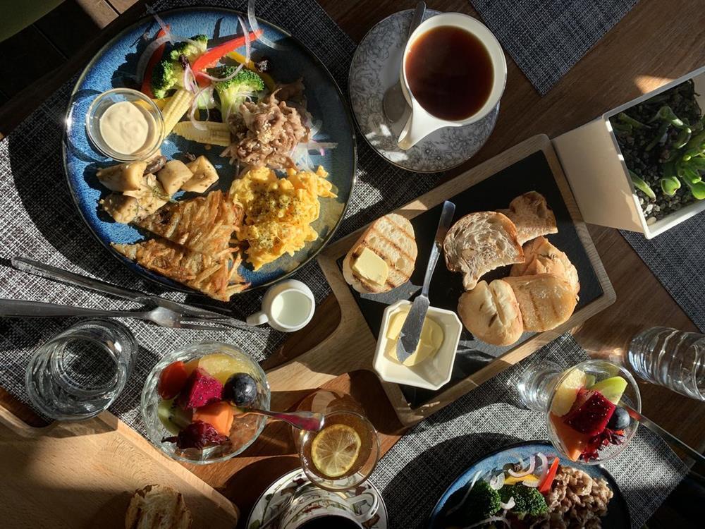 台東椰子海岸民宿早餐