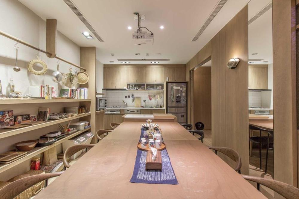 鶴宮寓廚房空間