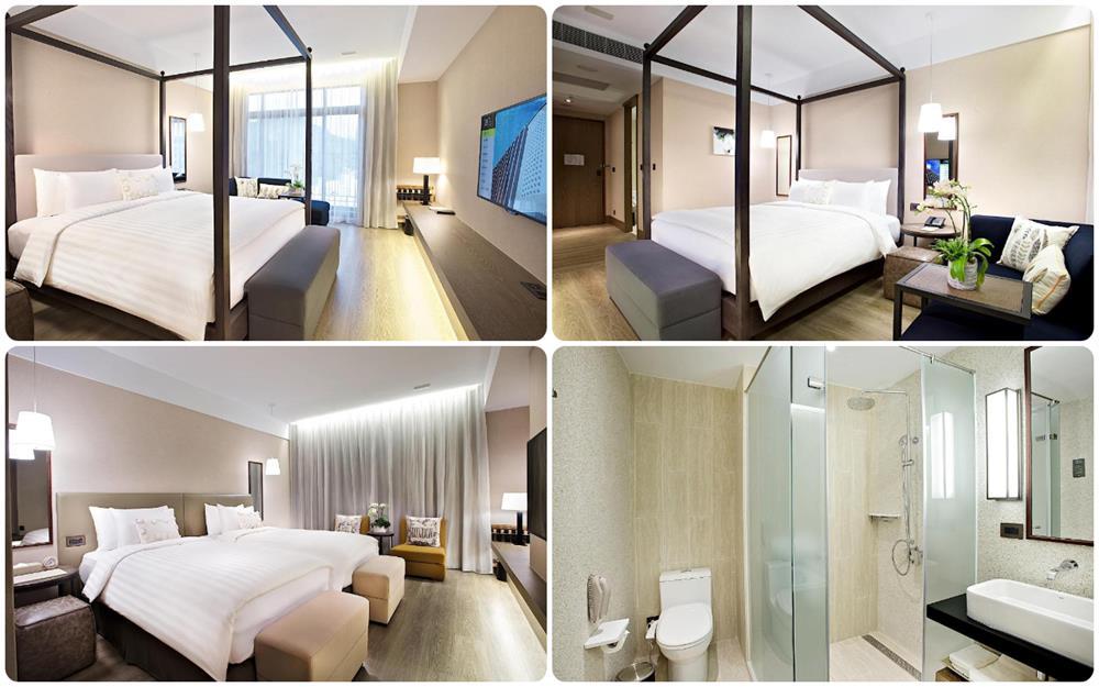 The Gaya飯店雙人床房及雙床房