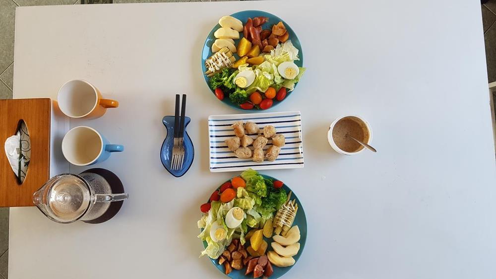 大海新發現民宿早餐