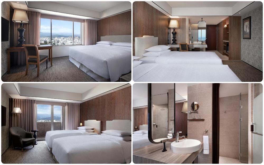 台東市飯店推薦桂田喜來登雙人床房及雙床房