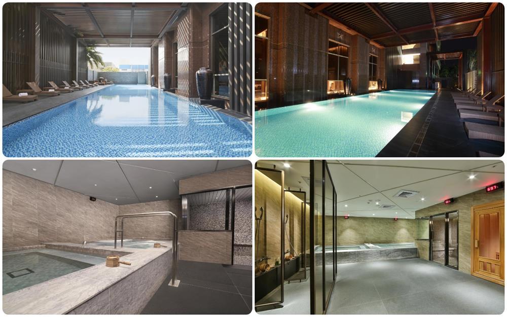 台東桂田喜來登酒店游泳池及三溫暖