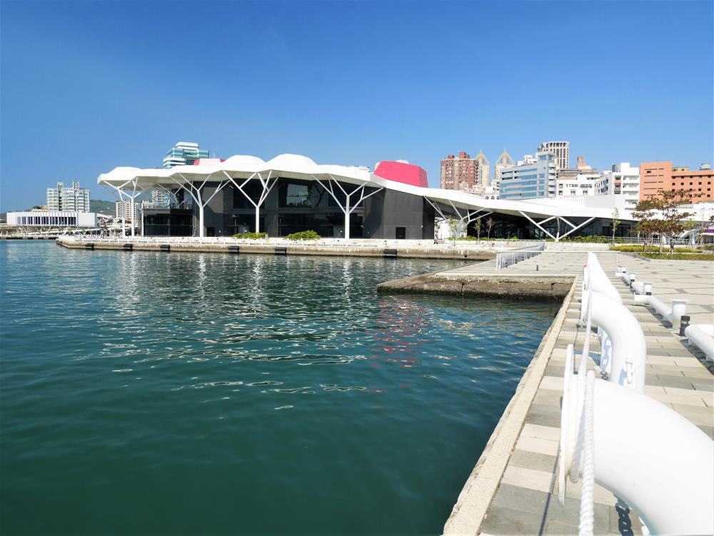 光榮碼頭珊瑚礁群建築