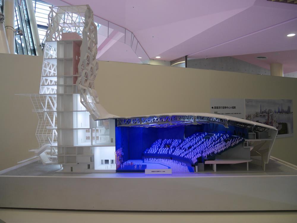 海音館剖面圖模型