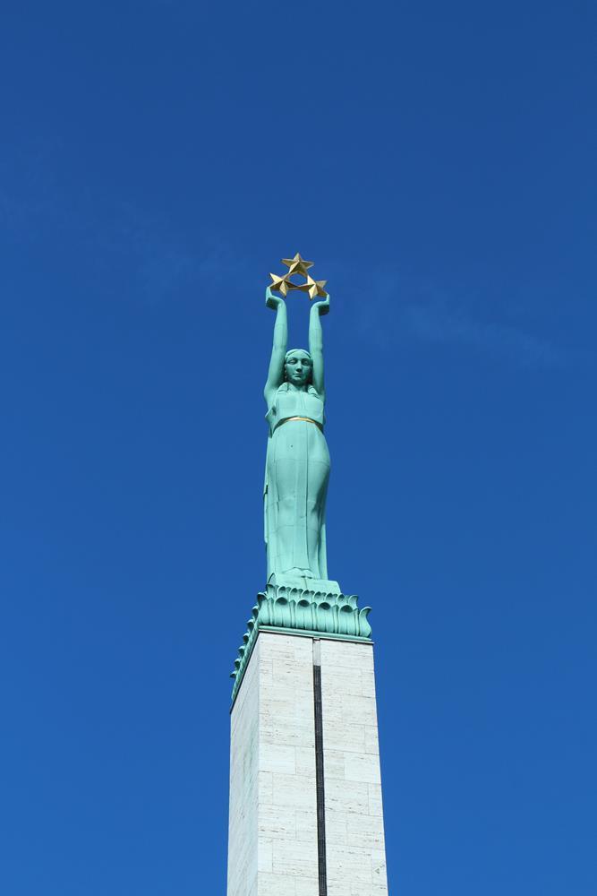 拉脫維亞自由女神像