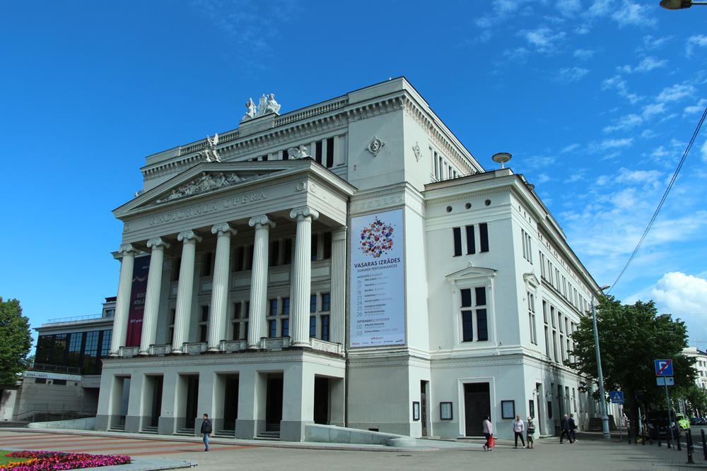 里加景點拉脫維亞國家歌劇院