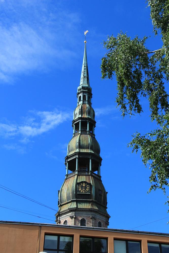聖彼得教堂的尖塔