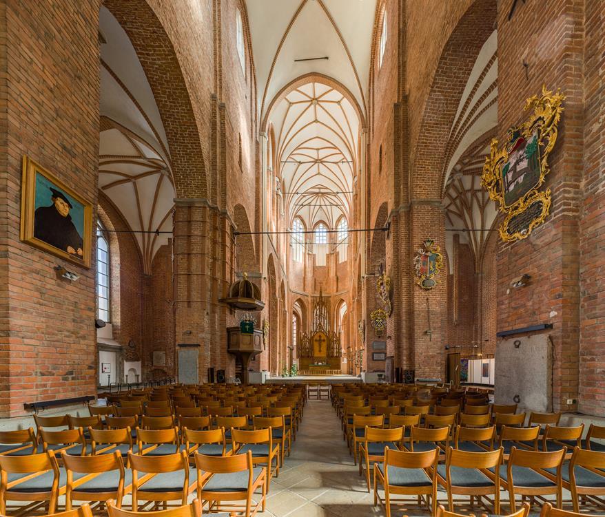 聖彼得教堂內部