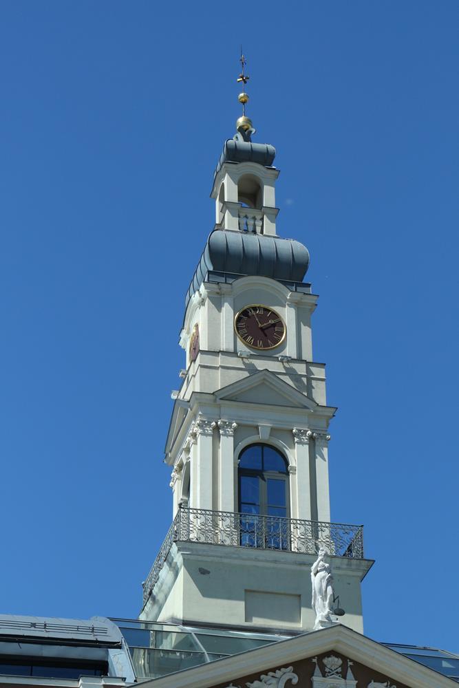 里加自由行市政廳尖塔