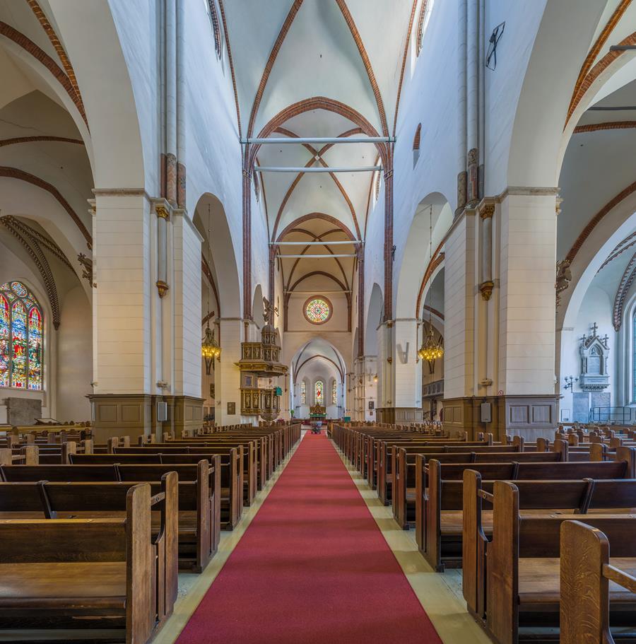 里加主教座堂內部