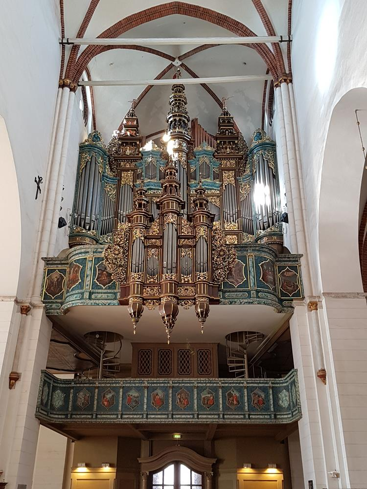17世紀的管風琴