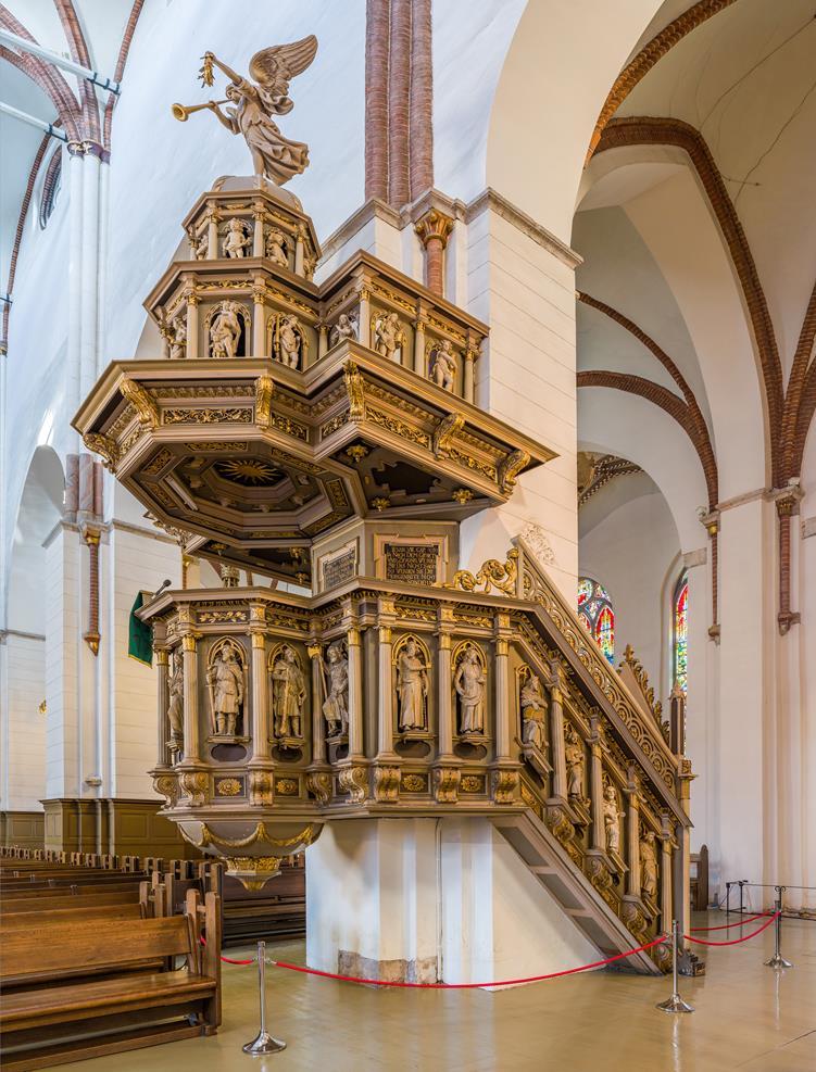 17世紀的講道壇